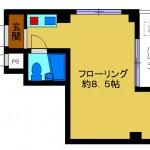 神楽坂3丁目ワンルーム(大谷ビル303号室) 画像1