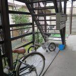駐輪スペース2014年8月撮影